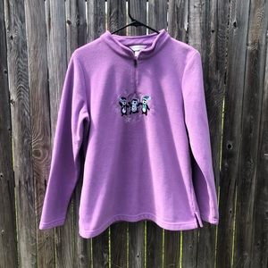 Christopher & Bank Fleece Pullover | NWOT | Medium